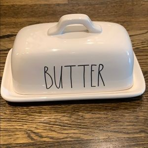 Rae Dunn Butter Dish - New Without Box